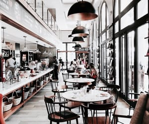 architecture, interior, and restaurant image