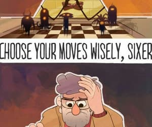 gravity falls, bill cipher, and bill image