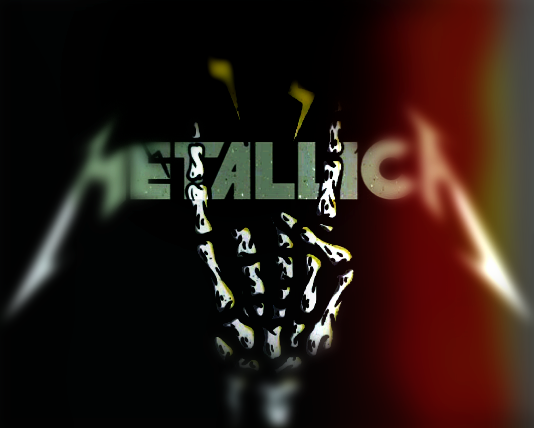 cool, edit, and metallica image