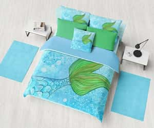 bedroom decor, machine washable, and duvet cover image