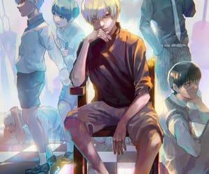 anime, fanart, and kaneki ken image
