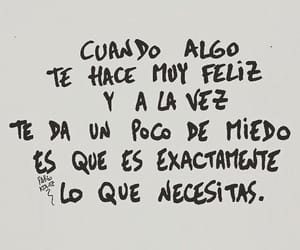 frases, fear, and quotes image