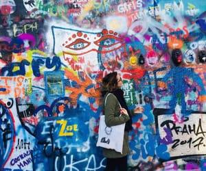 art, graffiti, and prague image