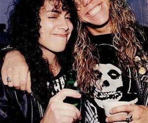 metallica, James Hetfield, and kirk hammett image