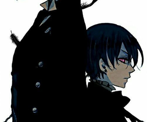 anime, grell, and black butler image