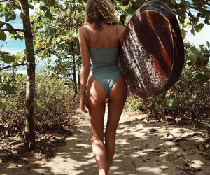 beach, summer, and elsa hosk image