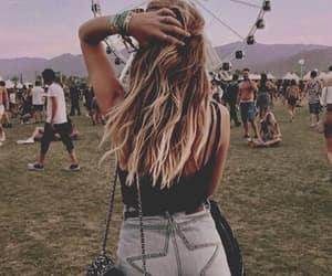 coachella, festival, and fashion image
