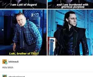 loki, thor, and funny image