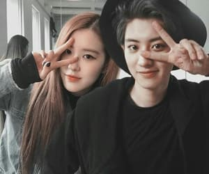 exo, rose, and blackpink image