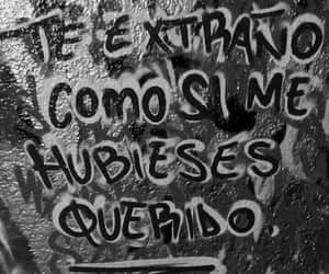 frases, triste, and te extraño image