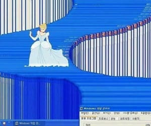cinderella, computer, and funny image