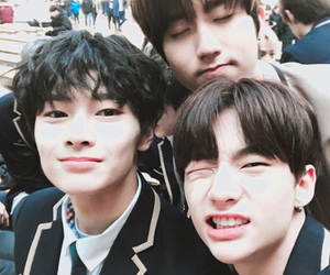 jisung, hyunjin, and stray kids image