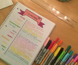 motivation, school, and notes image