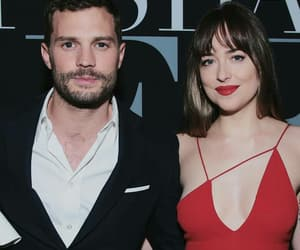 grey, Jamie Dornan, and dakota johnson image