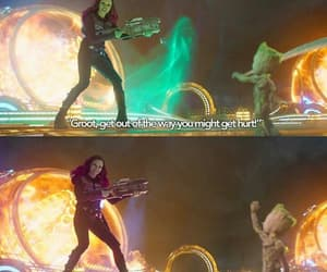 movies, funny scene, and marvel universe image