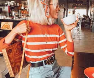 style, fashion, and coffee image