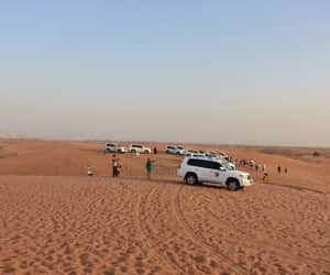 evening desert safari, dubai evening safari tour, and sunset safari dubai image
