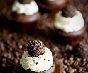 cupcake, sweet, and chocolate image