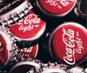 red, red vogue, and coke image
