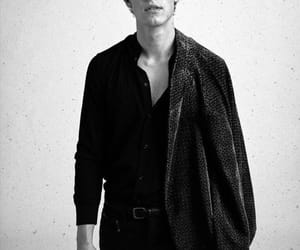 shawn mendes, singer, and black and white image