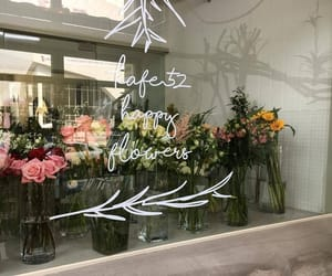 flowers, shop, and aesthetic image