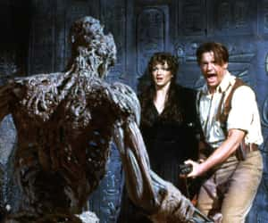 the mummy, Brendan Fraser, and egypt image