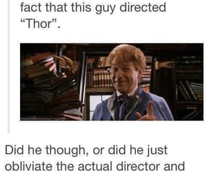 harry potter, thor, and funny image