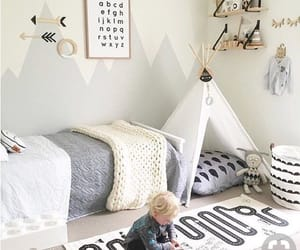 bedroom and toddler image