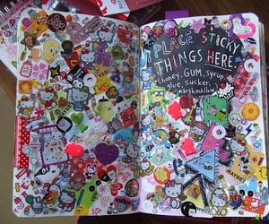 stickers, hello kitty, and sticky image