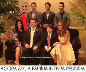 family and jonas brothers image