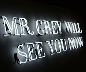 quote, mr grey, and fifty shades of grey image