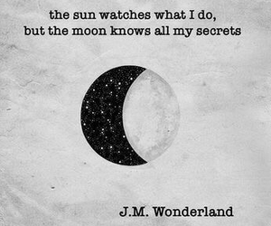 moon, quotes, and sun image