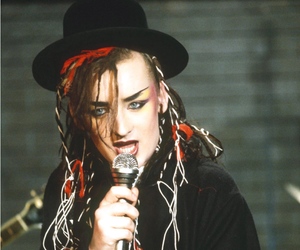 80's, boy george, and máquillaje image