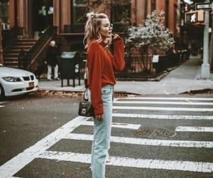 bag, girl, and hipster image