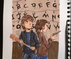 Nancy, jancy, and stranger things image