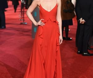 dress, red, and dakota johnson image