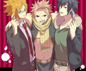 Leo, natsu dragneel, and fairy tail image