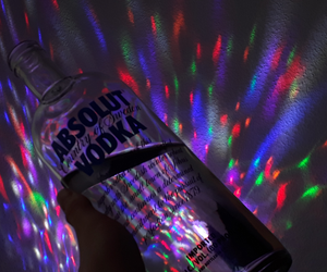 colours, indie, and vodka image