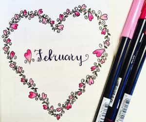 diy, february, and bullet journals image