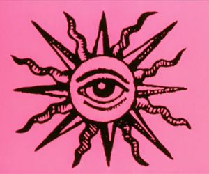 eye and pink image