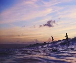 beautiful, ocean, and swim image