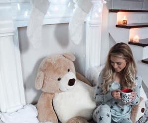 winter, christmas, and girl image