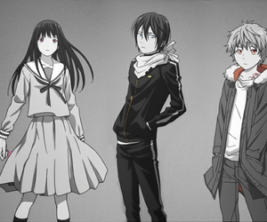 noragami, yato, and yukine image