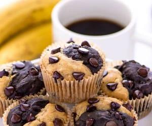 chocolate, muffins, and recipe image