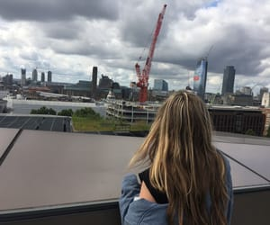 girl, london, and england image
