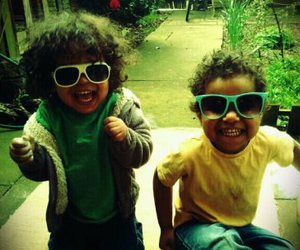 child, funky, and happiness image