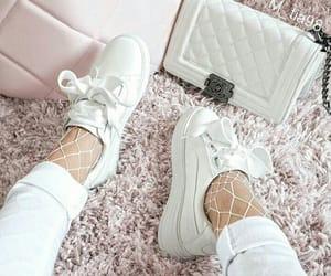 fashion, white, and handbag image