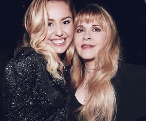 miley cyrus, fleetwood mac, and stevie nicks image