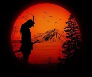 art, ninja, and samurai image