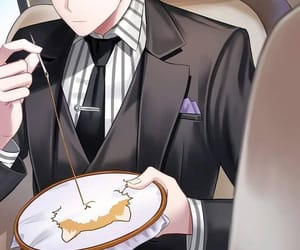 jumin, anime, and cat image